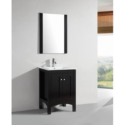 24 Single Modern Bathroom Vanity Set