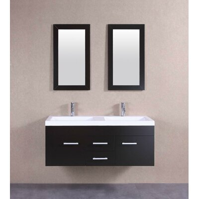 48 Double Modern Vanity Set