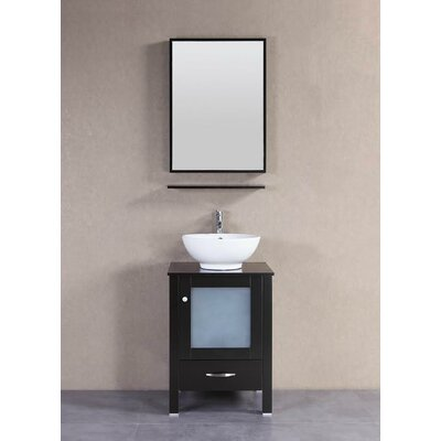 Signature Series 22 Single Modern Freestanding Bathroom Vanity Set