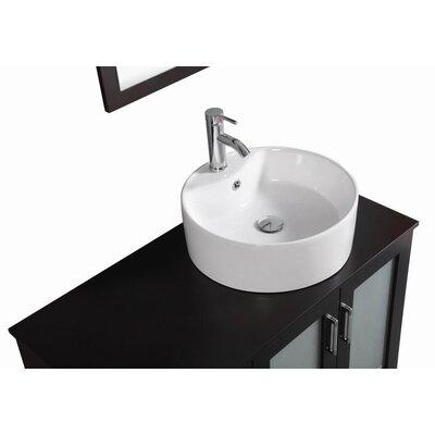 Signature Series 40 Single Modern Freestanding Bathroom Vanity Set