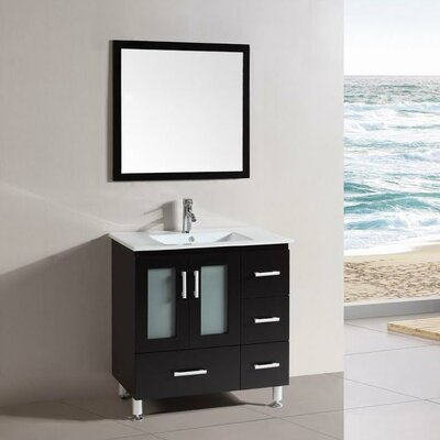 Signature Series 30 Single Modern Freestanding Bathroom Vanity Set
