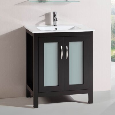 Modern Freestanding 28 Single Bathroom Vanity Set