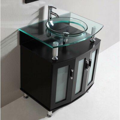 Modern 30 Single Bathroom Vanity Set