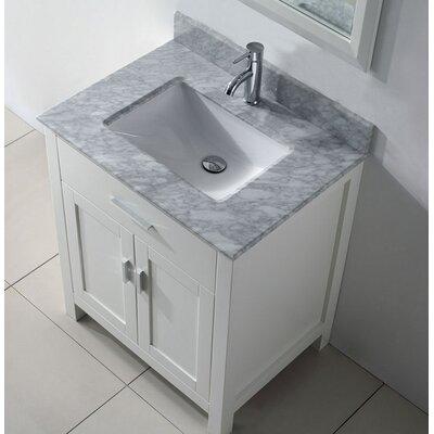 Ellenburg Freestanding 24 Single Bathroom Vanity Set