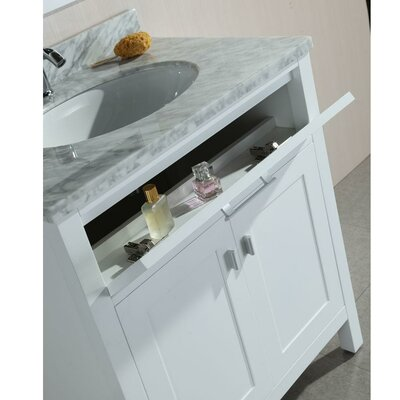 Ellington Traditional Freestanding 30 Single Bathroom Vanity Set