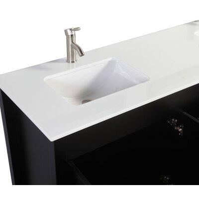 Iversen Freestanding 60 Double Bathroom Vanity Set