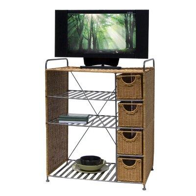 Wicker 26 TV Stand