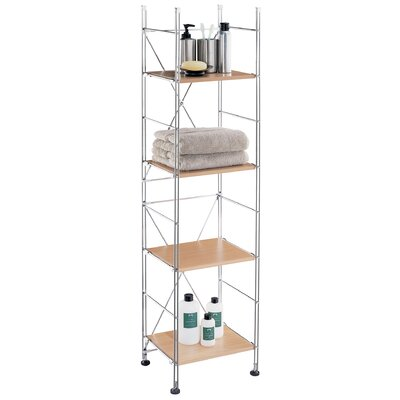 Four Shelf Towel Tower in