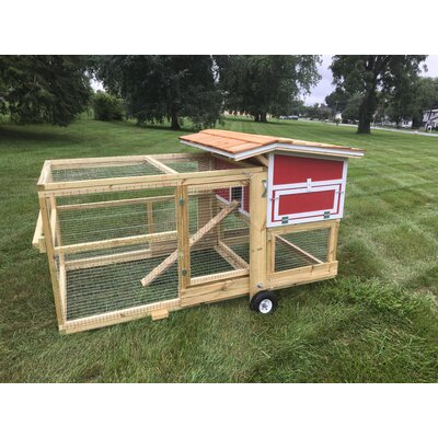 The Bertha Chicken Coop with Nesting Box