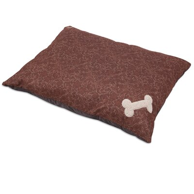 Bone Applique Dog Pillow