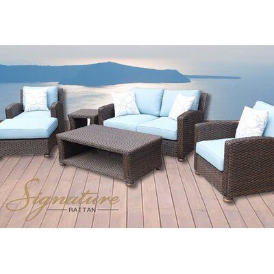 Harvey 5 Piece Deep Seating Group with Cushion