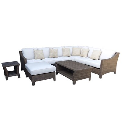 La Jolla 7 Piece Deep Seating Group with Cushion