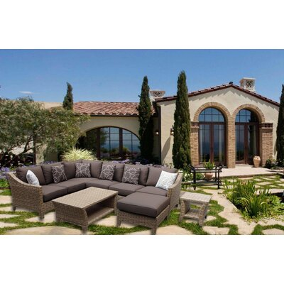 Ultimate Rattan Sectional Set Product Photo