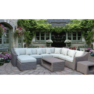Brokaw 8 Piece Deep Seating Group with Cushion