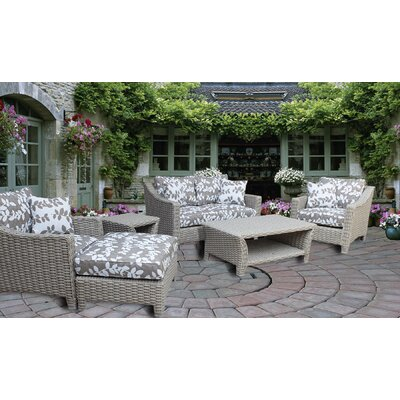 Galen 6 Piece Seating Group with Cushion
