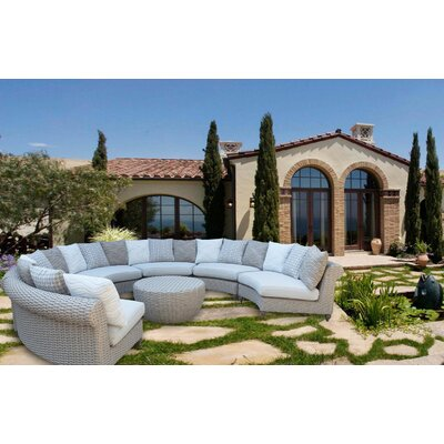Wiggins 7 Piece Deep Seating Group with Cushion