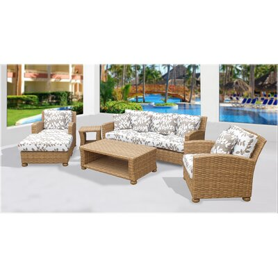 Harvey 6 Piece Deep Seating Group with Cushion