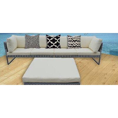 Honeycutt Deep Seating Sofa with Cushions