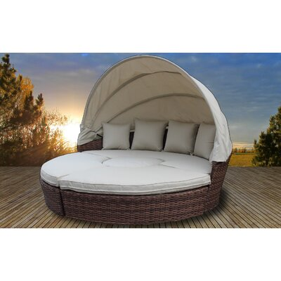 Dutil Luxurious Resort Style Daybed with Cushions