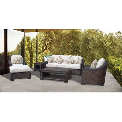 Montego Bay Lush and Stylish 6 Piece Deep Seating Group with Cushions