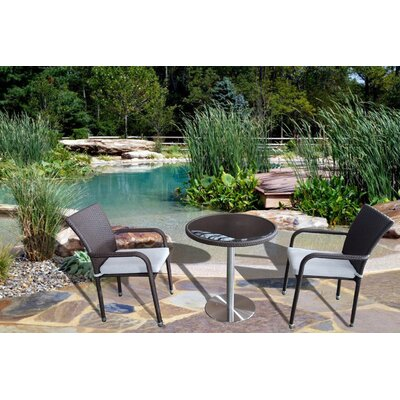 KQ Maui 3 Piece Pub Table Set
