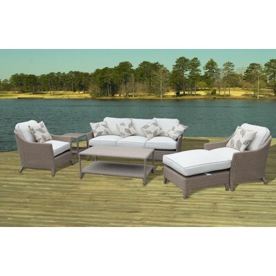 Bayside Premium 6 Piece Deep Seating Group with Cushion
