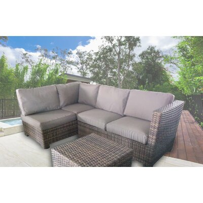 Sonoma Sectional with Cushions