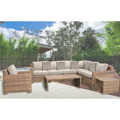 Sonoma 9 Piece Deep Seating Group with Cushion