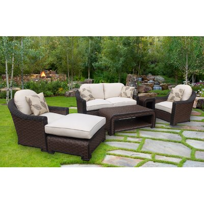 Gaia 4 Piece Deep Seating Group with Cushions