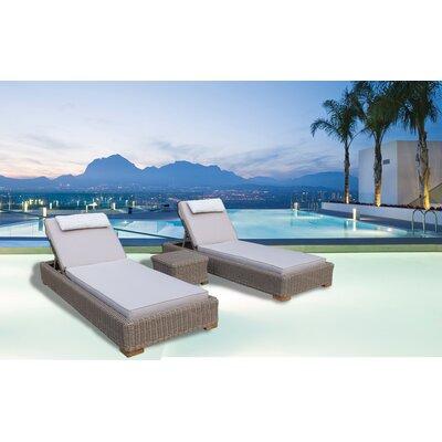 Brokaw Premium Quality Double Chaise Lounge Cushion - Product photo