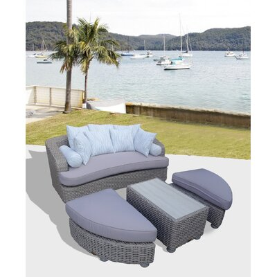 Gaia Tuscan Daybed with Cushions