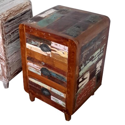 Billy Hand Painted End Table Finish: Rich Brown