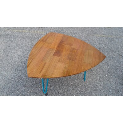 Burg Hand Crafted Reclaimed Wood Coffee Table Color: Cherry Hardwood