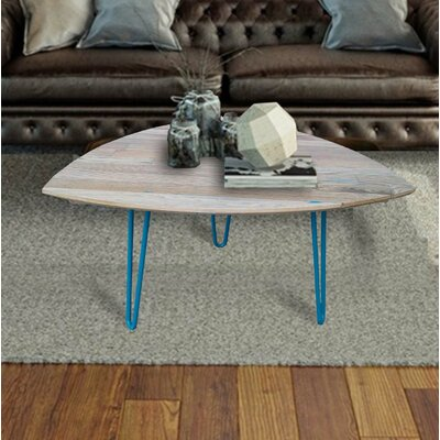 Burg Hand Crafted Reclaimed Wood Coffee Table Color: Oak Wood