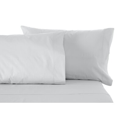 Solid Sheet Set Size: Twin, Color: Silver