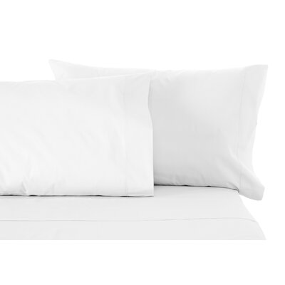 Solid Sheet Set Size: Split King, Color: White
