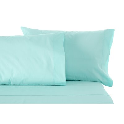Solid Sheet Set Size: Twin, Color: Light Blue