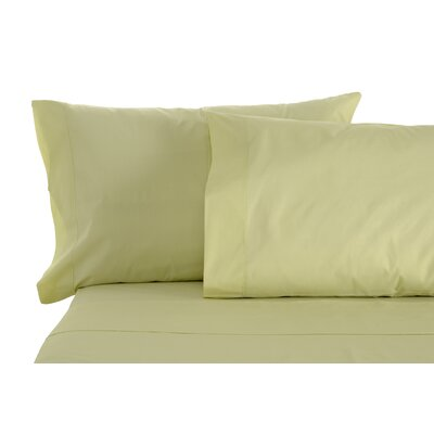 Solid Sheet Set Size: King, Color: Sage