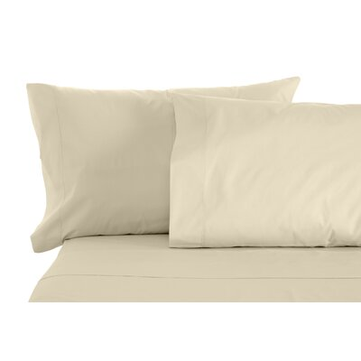 Solid Sheet Set Size: Split King, Color: Taupe