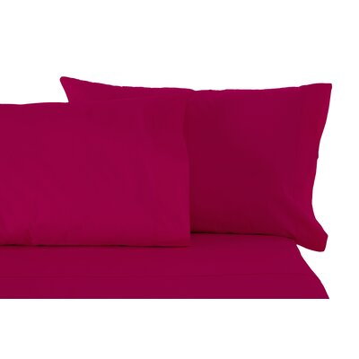 Sheet Set Size: Split King, Color: Raspberry