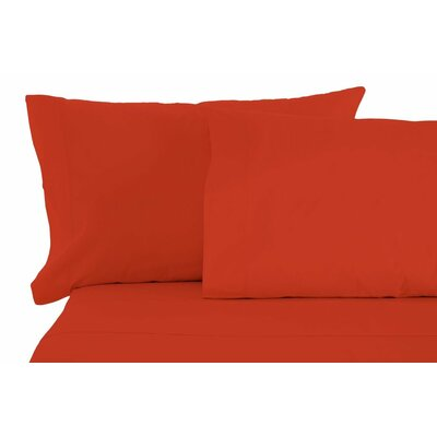 Matching Pillowcases Size: King, Color: Pumpkin