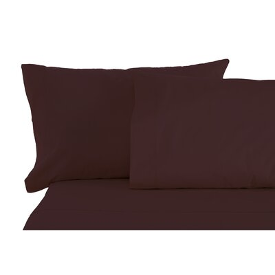 Matching Pillowcases Size: King, Color: Eggplant