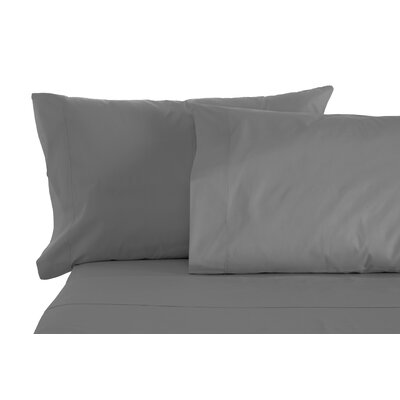 Matching Pillowcases Size: King, Color: Gray