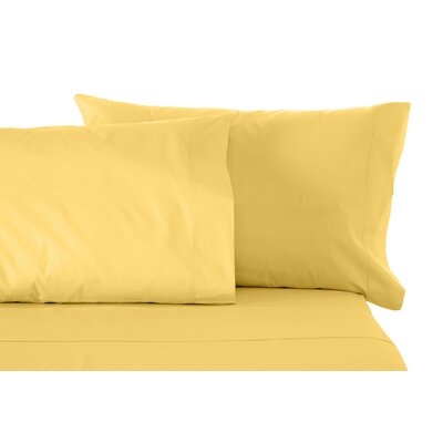 Matching Pillowcases Size: Standard, Color: Gold