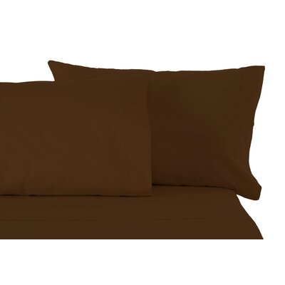 Matching Pillowcases Size: King, Color: Brown