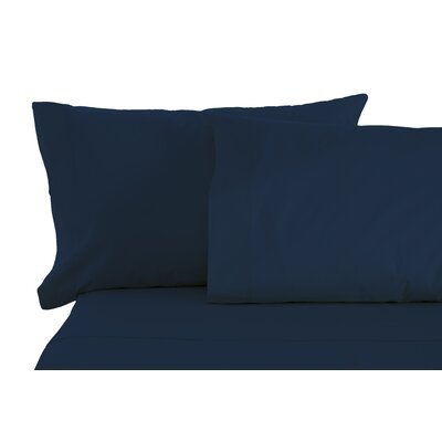 Matching Pillowcases Size: King, Color: Navy