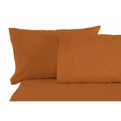 Matching Pillowcases Size: King, Color: Bronze