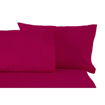 Matching Pillowcases Size: King, Color: Raspberry