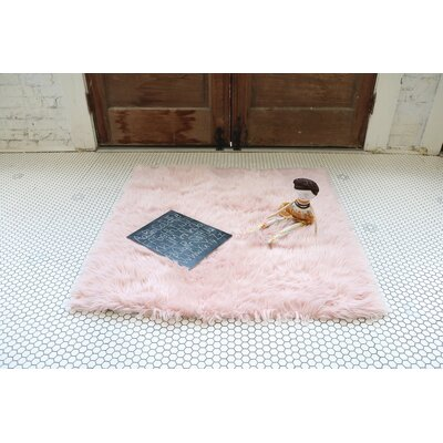 Pullman Blush Pink Area Rug
