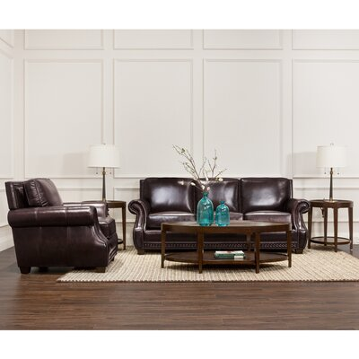 Anndale Leather Sofa